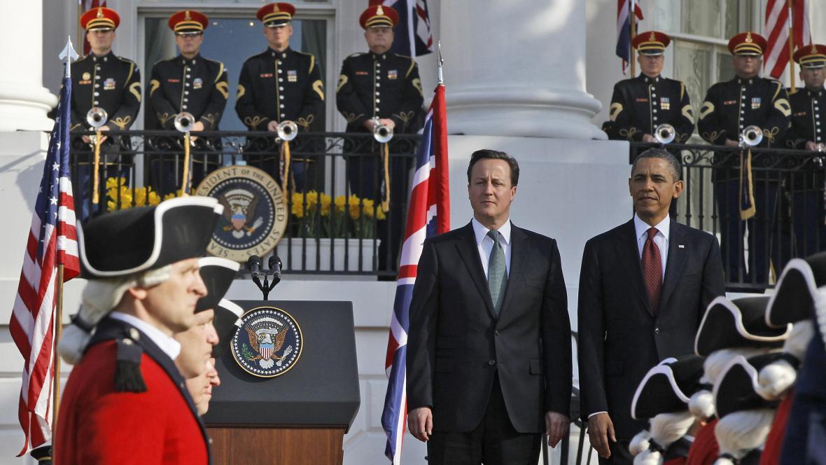 Barack Obama přivítal Davida Camerona