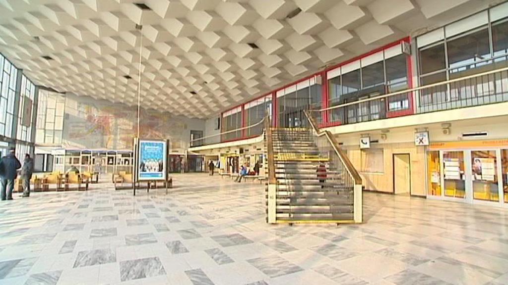 Vestibul nádraží v Havířově