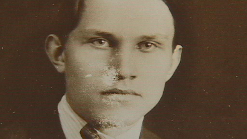Jan Patočka na archivní fotografii
