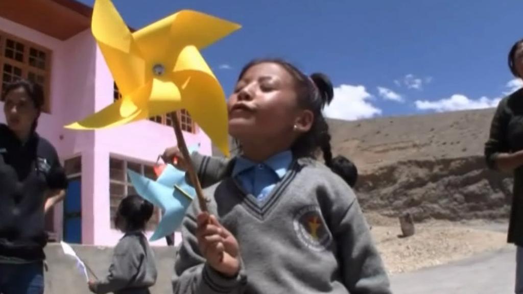 Dívka ze školy v Mulbekhu