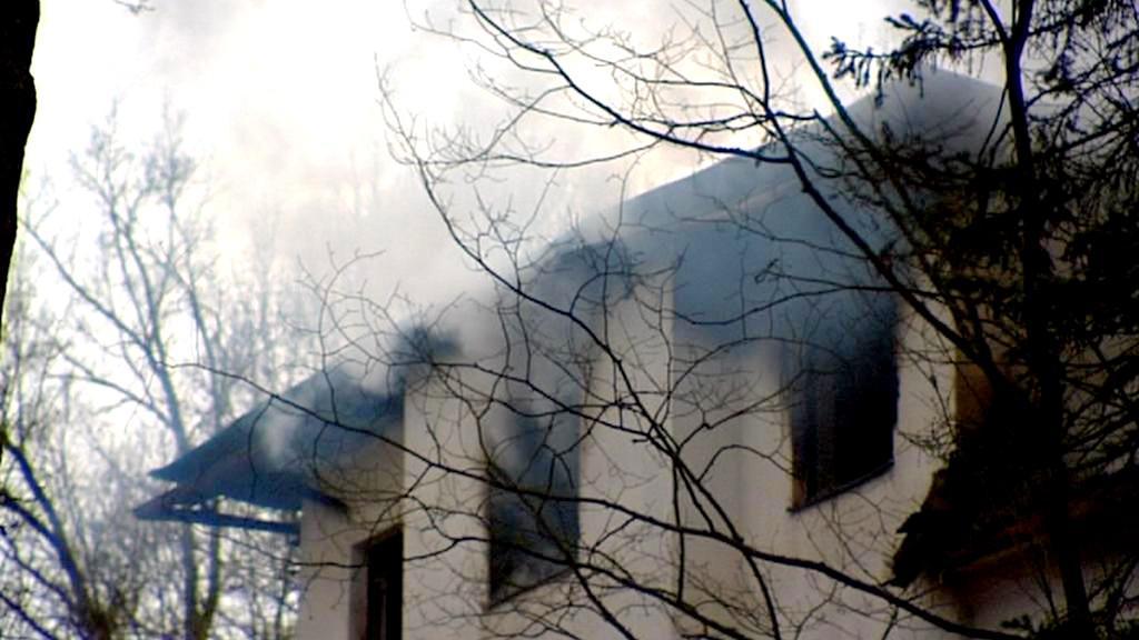 Požár internátu Rudá Hvězda