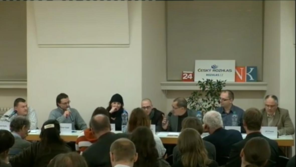 Panelová diskuze na téma Knižní pirátství v Národní knihovně v Praze