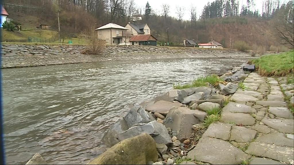Bečva v minulosti několikrát ohrozila Rožnov pod Radhoštěm