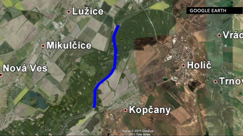 1. etapa protipovodňových opatření na řece Moravě