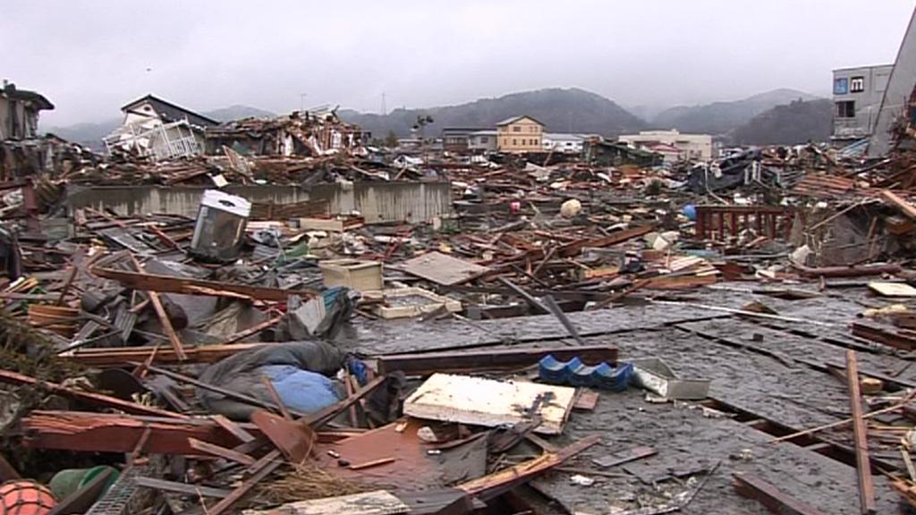 Kesennuma (Japonsko) - březen 2011