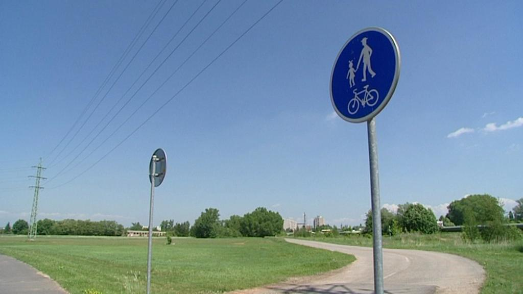 Cyklostezka v Hradci Králové