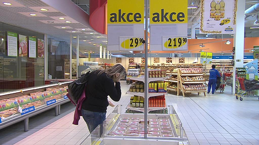 Nakupování v akci