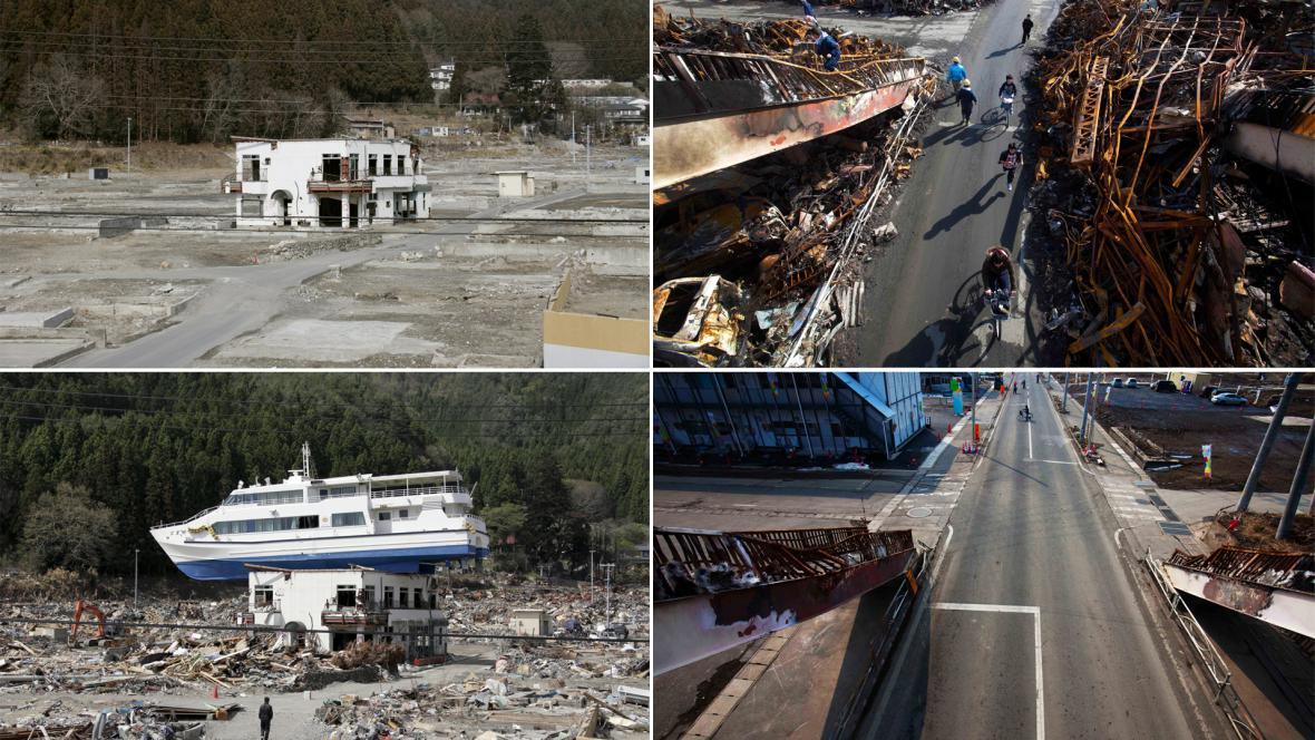 Japonsko před rokem a dnes