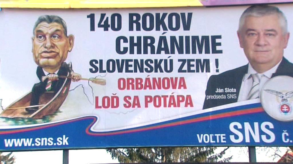Volební kampaň SNS