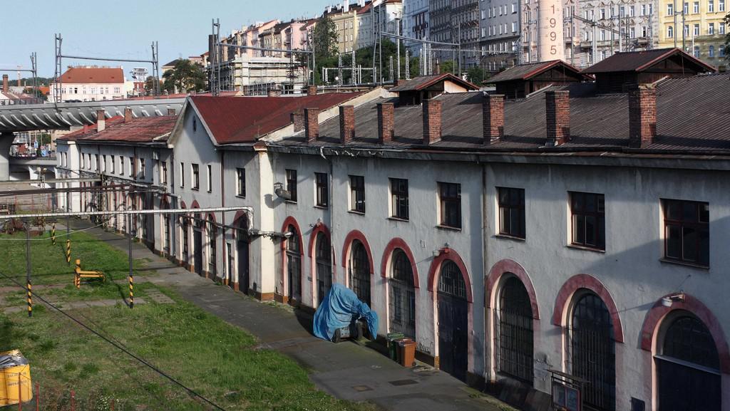 Masarykovo nádraží - dílny