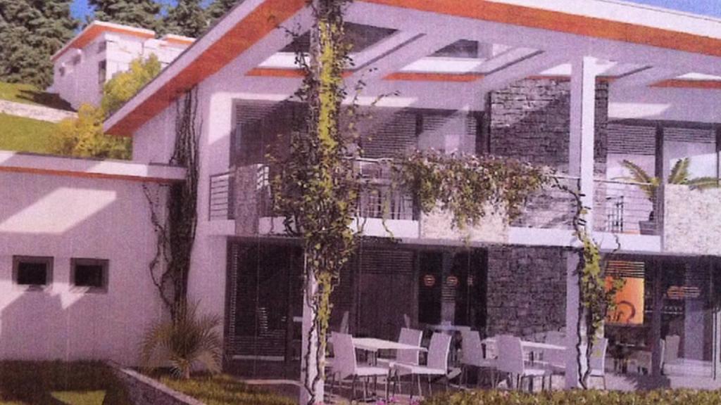 Projekt moderní rezidence na Zlatém vrchu v Bečově nad Teplou