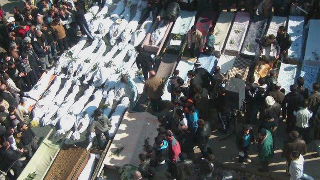 Mrtví v Sýrii