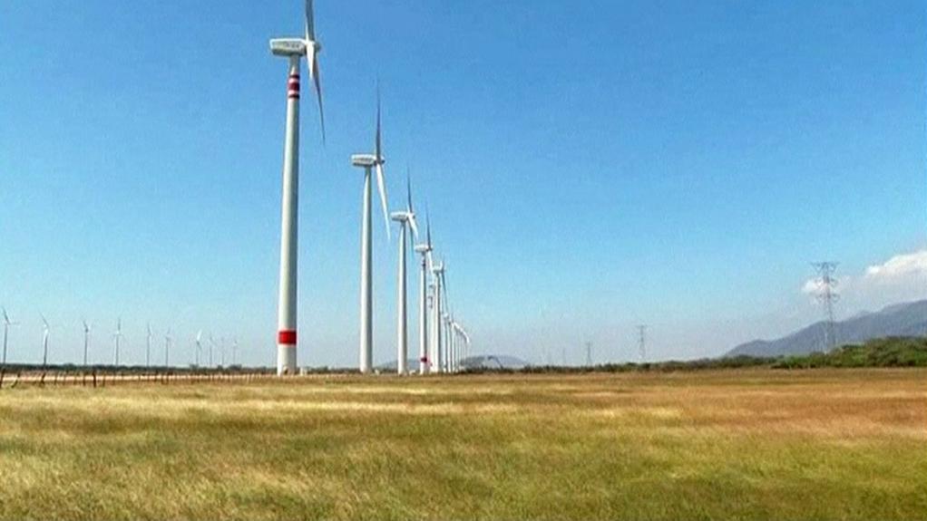 Mexické větrné elektrárny