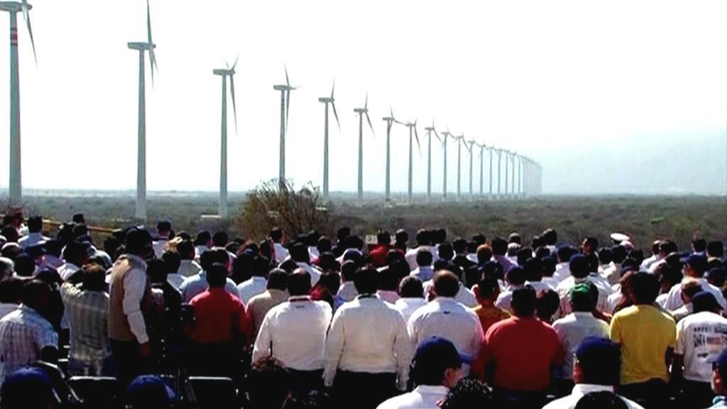 Větrné elektrárny v Mexiku