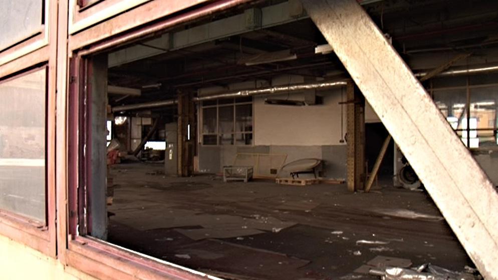 Opuštěná tovární hala