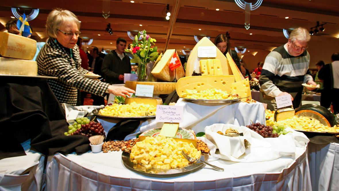Světový šampionát sýrů v Madisonu