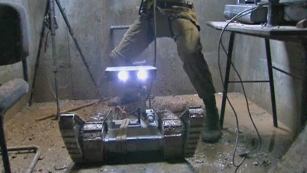 Izraelské speciální jednotky využívají i roboty