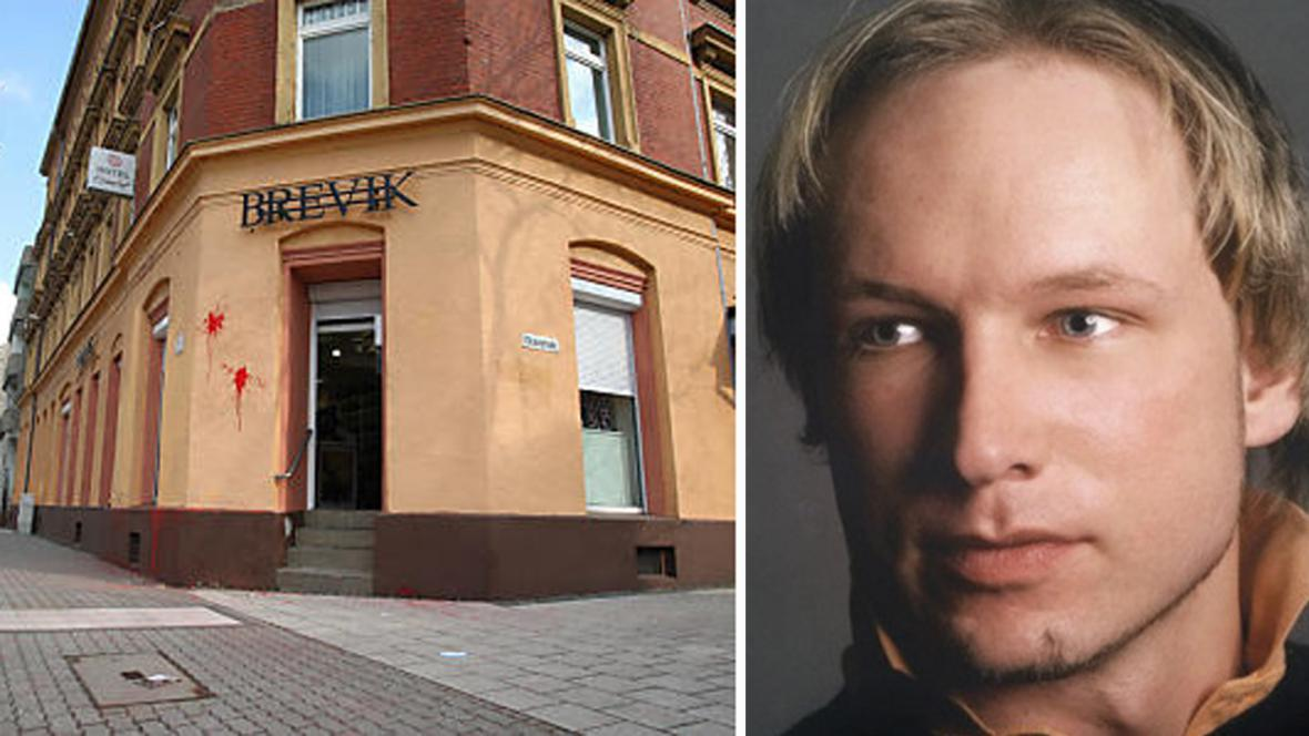 Obchod Brevik v Saské Kamenici a norský vrah Anders Breivik