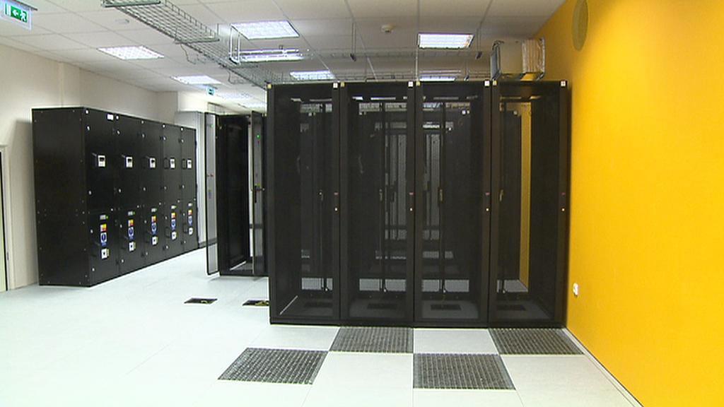 Datové centrum Tower nabízí 64 racků (skříní)