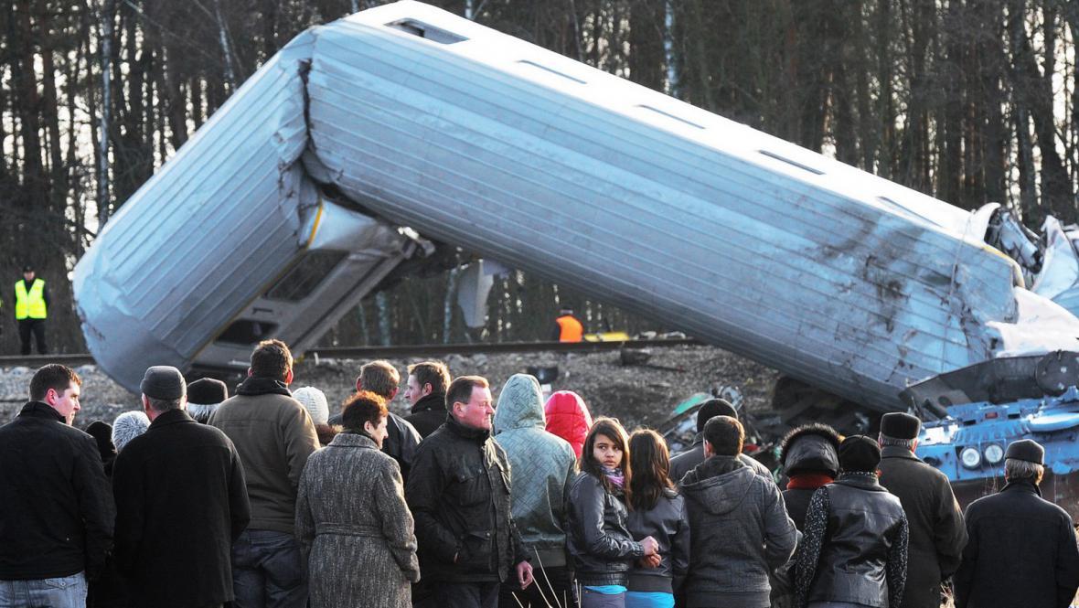 Železniční neštěstí v Polsku