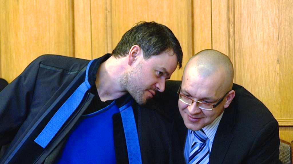 Jaroslav Škárka s obhájcem