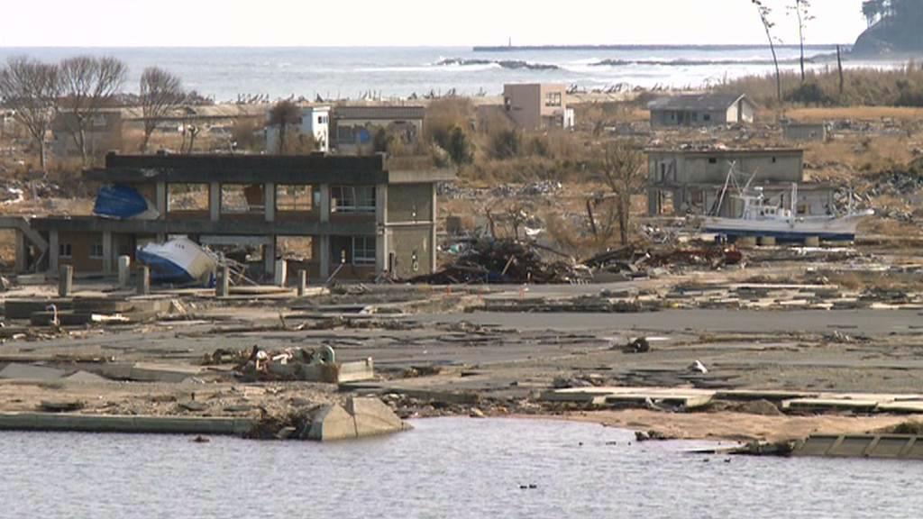 Z pobřežní čtvrti Namie nezbylo téměř nic