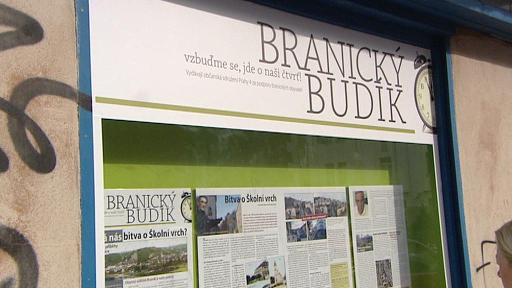 Místní obyvatelé chtějí zachovat klidný ráz Braníku