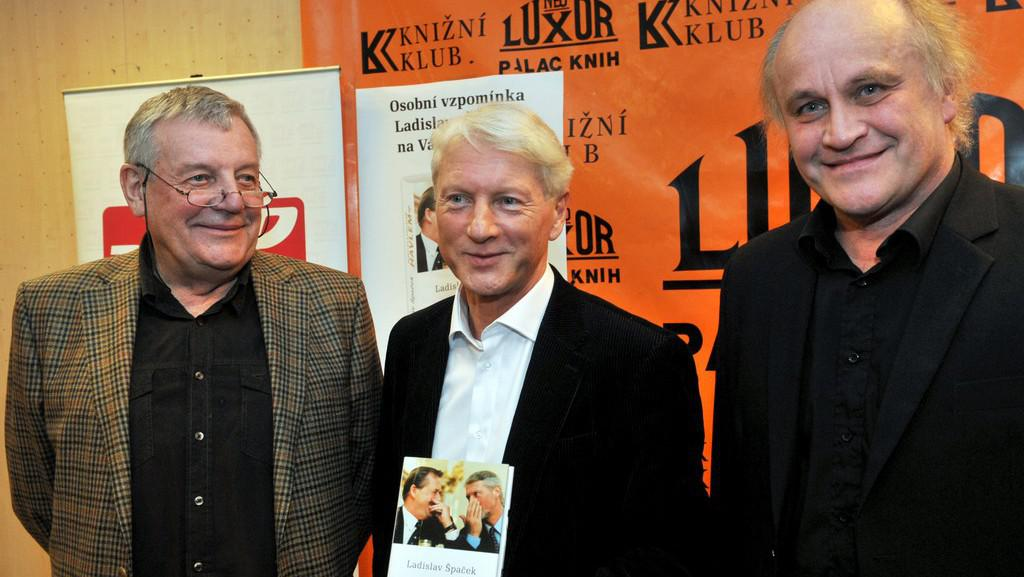 Karel Hvížďala, Ladislav Špaček a Michael Kocáb