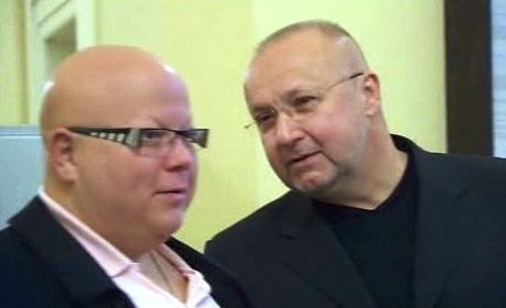 Jaroslav Starka s Juliem Kramaričem