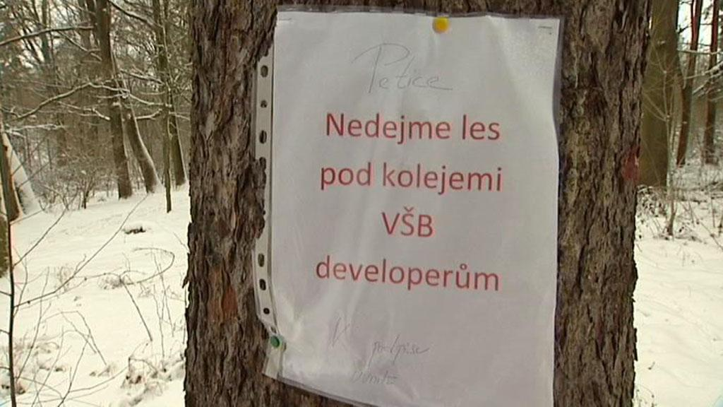 Petice proti stavbě domu v Ostravě-Porubě