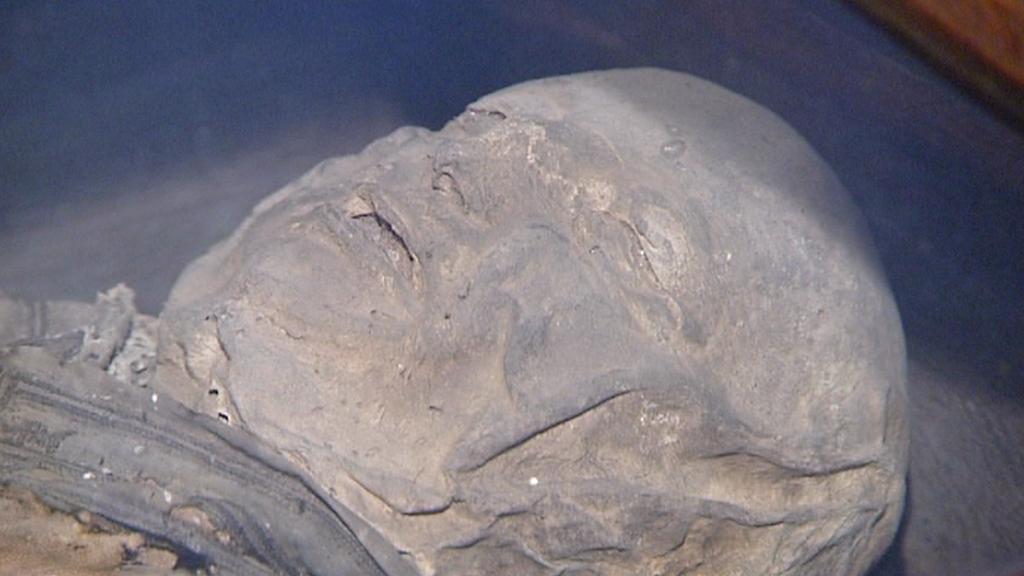 Mumie člena rodiny Gryspeků