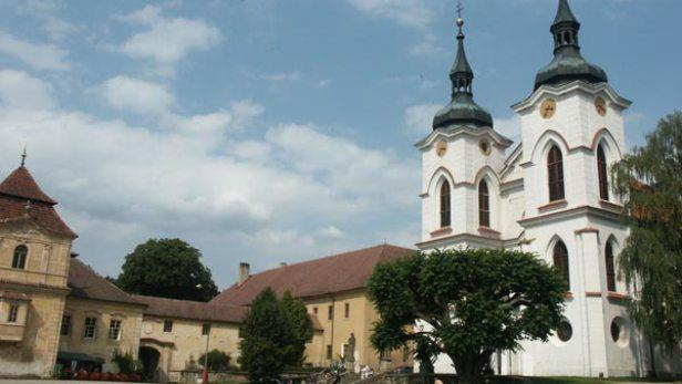 Klášterní kostel v Želivě