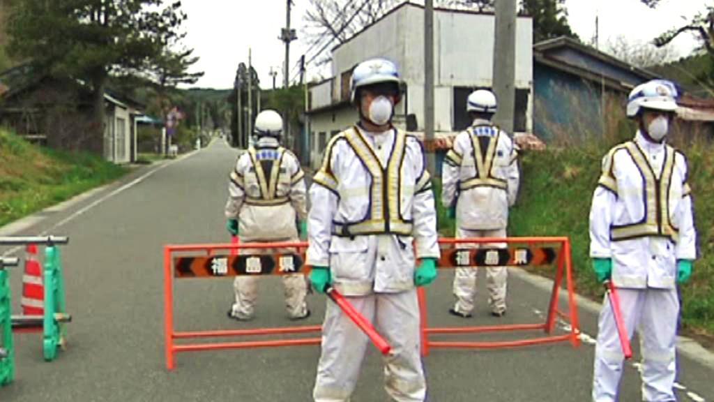 Zamořená zóna v okolí Fukušimy