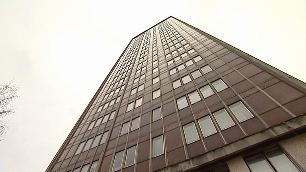 Nepovedený mrakodrap v Ostravě