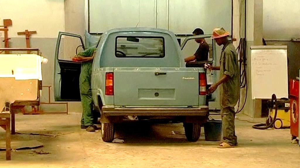 Výroba aut na Madagaskaru