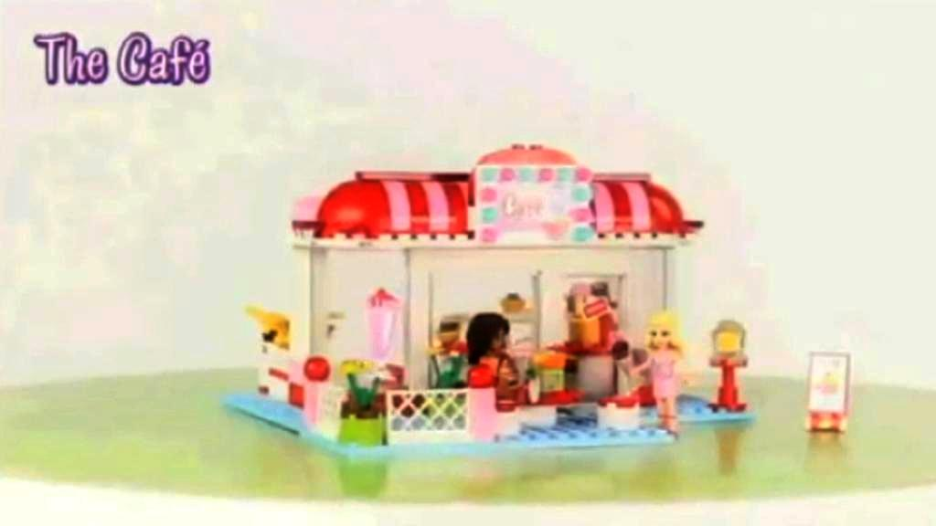 Lego kavárna