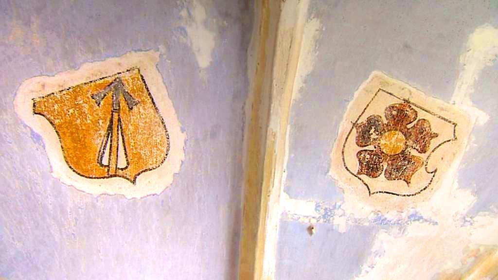 Fresky v žumberském kostele