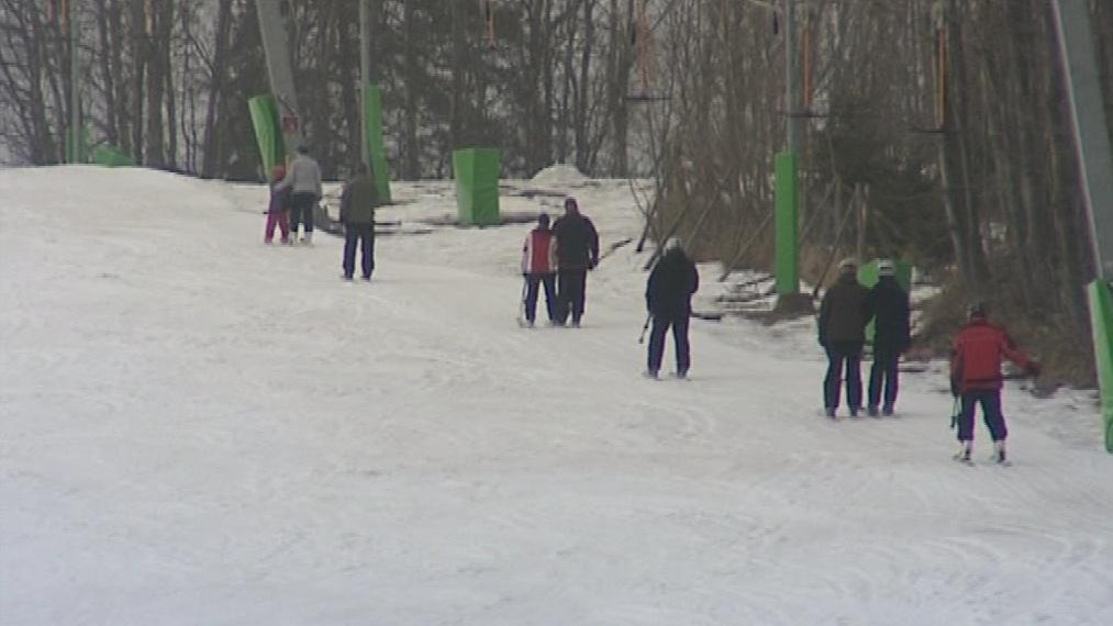 V Jihomoravském kraji se lyžuje už jen na dvou místech