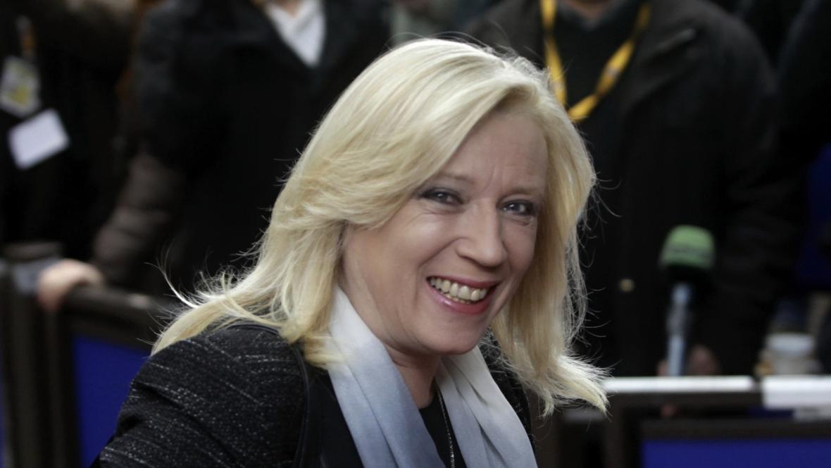 Iveta Radičová na summitu EU