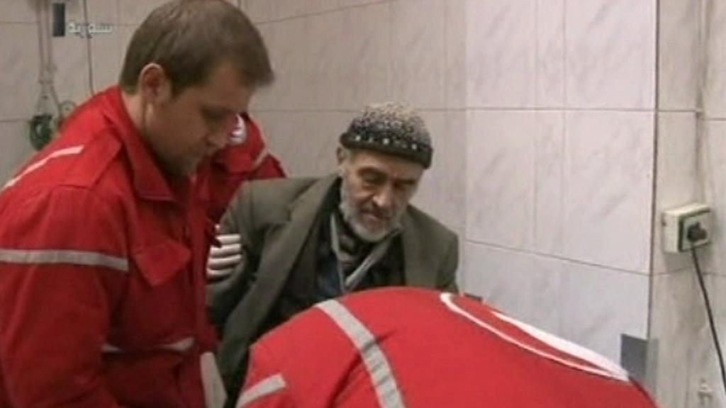 Pomoc Červeného kříže v Sýrii