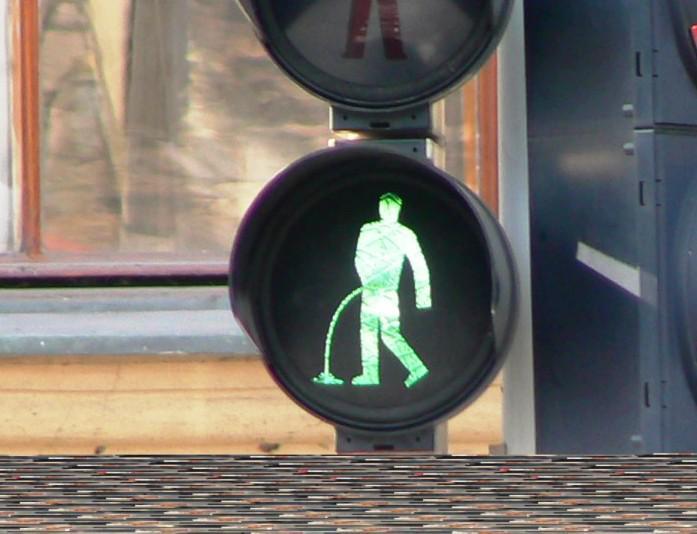 Vyměněný semafor
