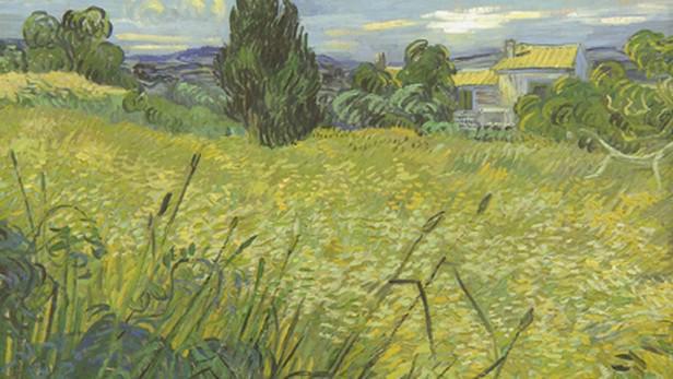 Vincent van Gogh / Zelené obilí (detail)