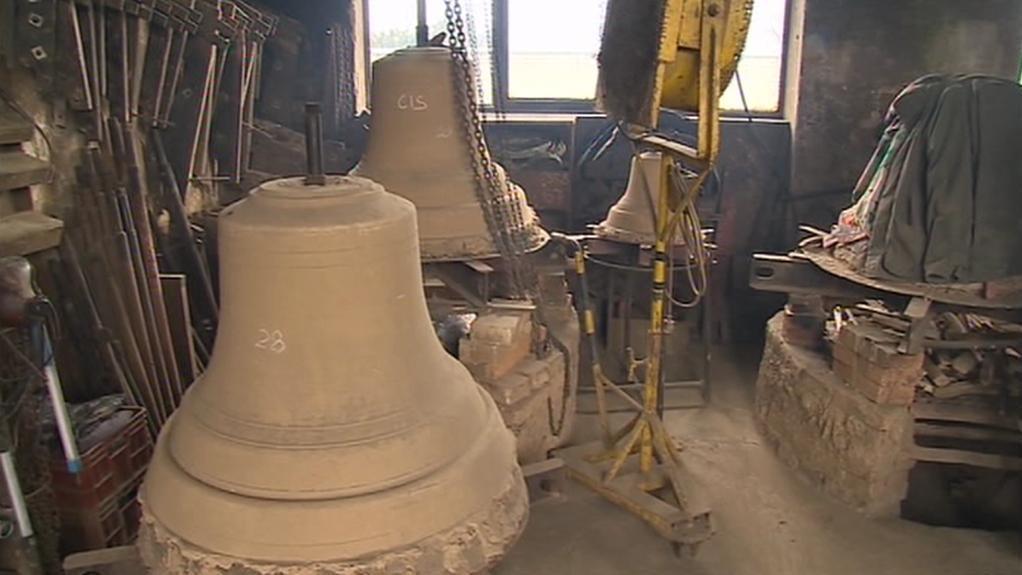 V Brodku vzniká první ze třích zvonů pro katedrálu sv. Víta