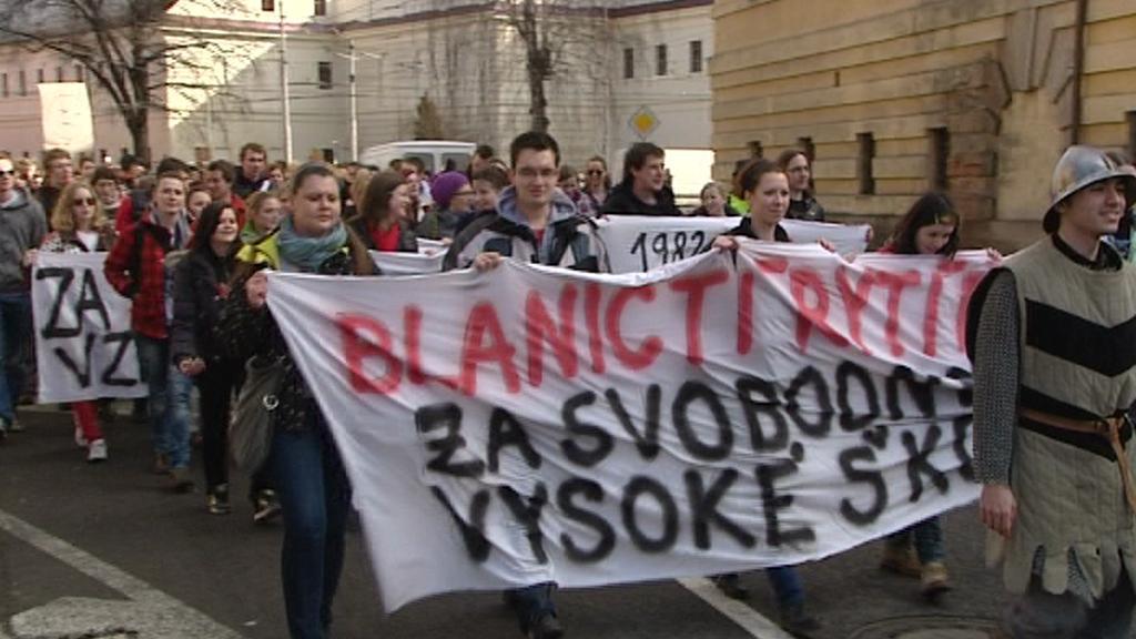 Studenti v Hradci Králové