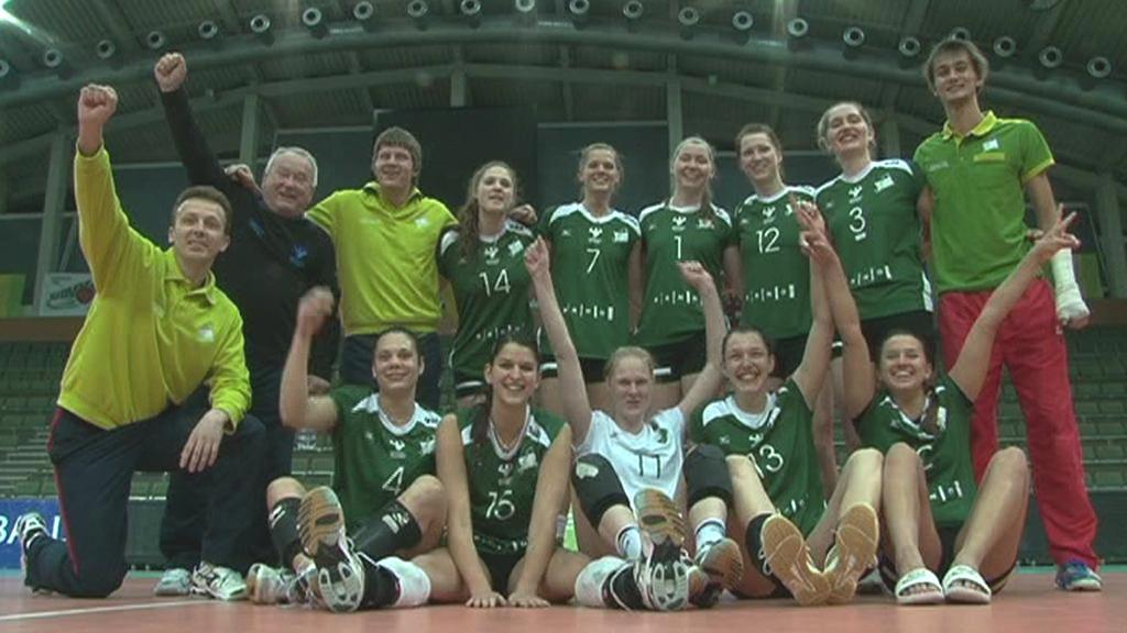 Volejbalistky KP Brno