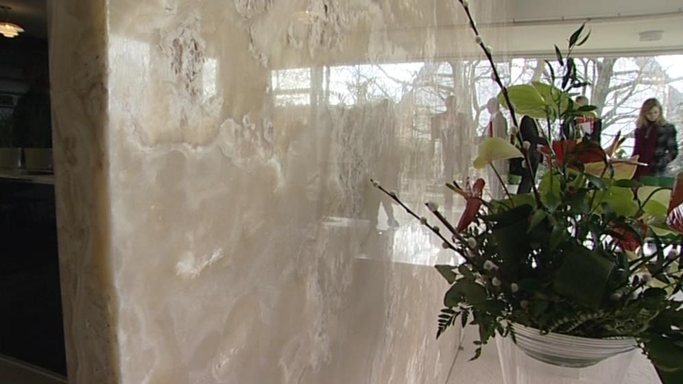 Onyxová stěna ve vile Tugendhat