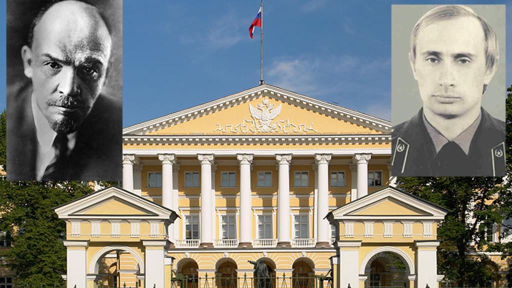 Smolný palác v Petrohradě