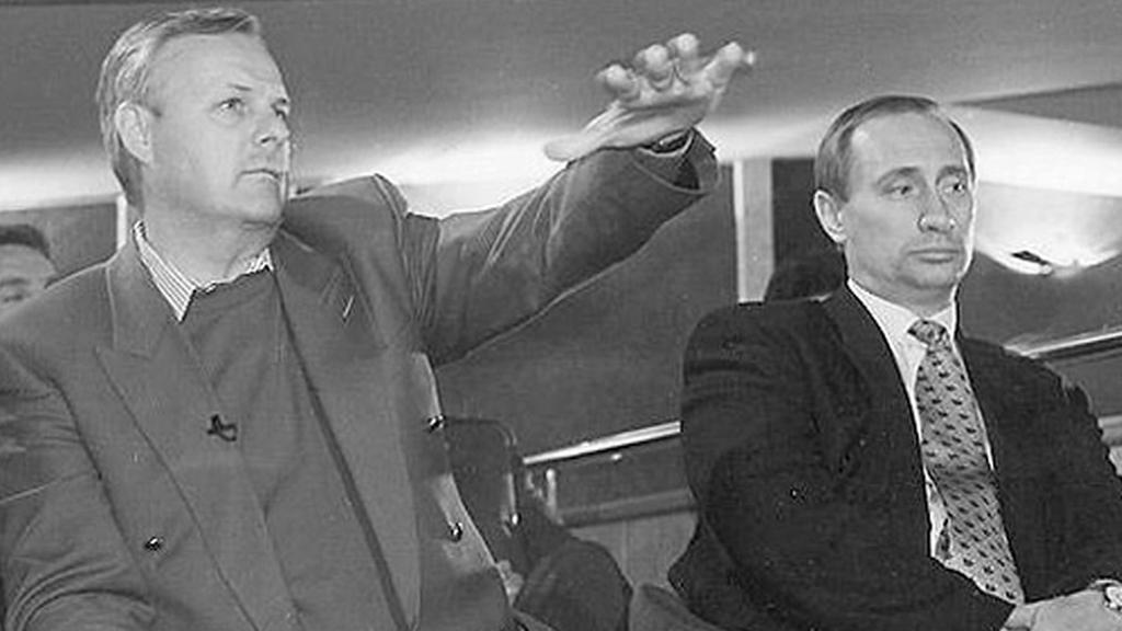 Anatolij Soibčak a Vladimir Putin