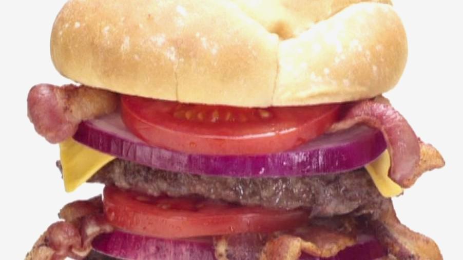 Obří hamburger