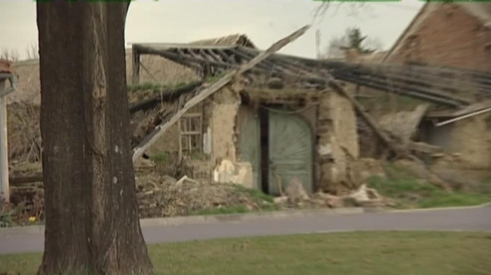 Památkově chráněný dům ve Slupi u Znojma loni v létě
